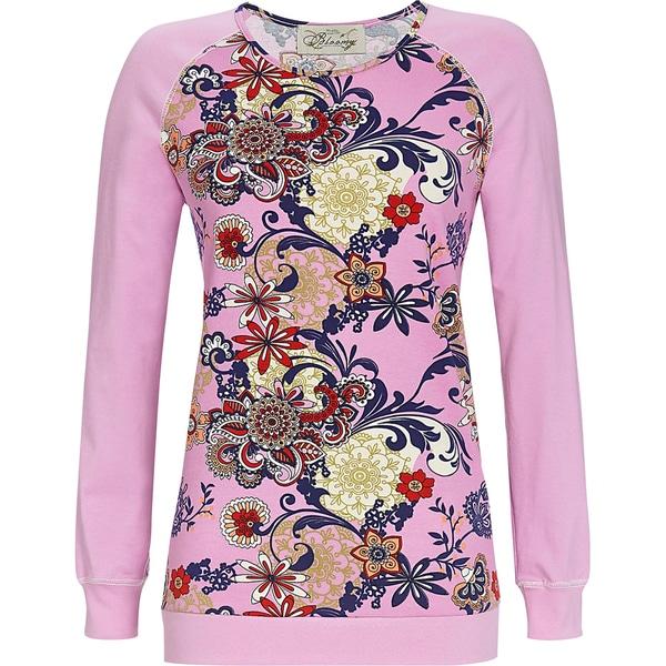 Bloomy Damen-Langarmshirt lavendel