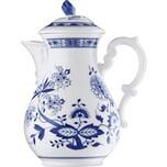 """Hutschenreuther Kaffeekanne """"Blau Zwiebelmuster"""" königsblau"""