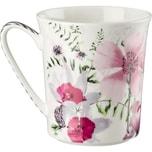 Rosenthal Kaffeebecher Belles Fleurs rosa