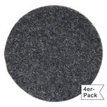 Gilde Untersetzer 4er-Pack dunkelgrau