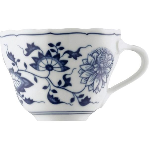 Hutschenreuther Kaffeetasse Blau Zwiebelmuster