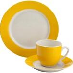 Gepolana Kaffeeservice 18-tlg. gelb