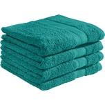 Redbest Duschtuch Chicago 4er-Pack smaragdgrün