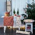 Apelt Tischband Winterwelt creme