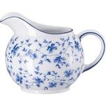 Arzberg Milchkännchen Blaublüten weiß/blau