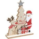 Figur Merry Christmas rot