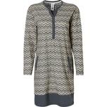 Rebelle Damen-Nachthemd grau/natur