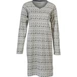 Redbest Damen-Nachthemd grau
