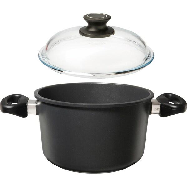 Gepolana Kochtopf mit Deckel schwarz Ø 20cm
