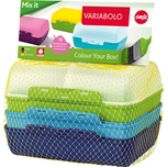 Emsa Brotdose Variabolo blau 2er-Pack