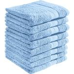 Redbest Duschtuch Chicago 8er-Pack hellblau