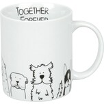 Könitz Kaffeebecher Hunde