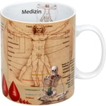 "Kaffeebecher ""Medizin"" bunt"