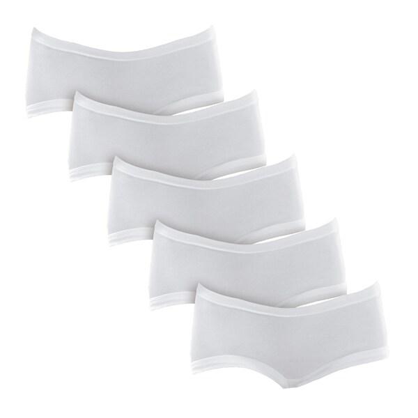 Schöller Damen-Hüftslip 5er-Pack weiß