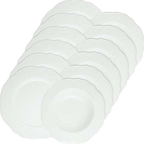 Gepolana Tafelservice 12-tlg. weiß