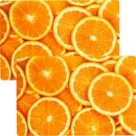 Stuco Tischset 2er-Pack orange