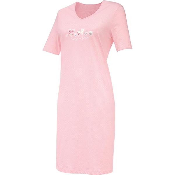 Erwin Müller Damen-Nachthemd rosa