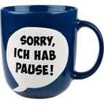 Wächtersbach Kaffeebecher blau
