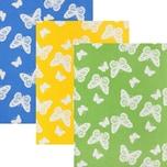 Kracht Geschirrtuch 3er-Pack grün/blau/gelb