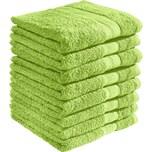 Redbest Duschtuch Chicago 8er-Pack apfelgrün