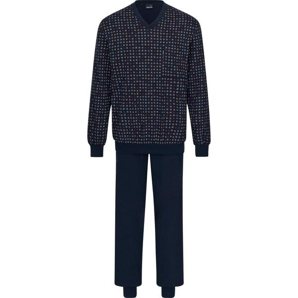Ammann Herren Schlafanzug dunkelblau