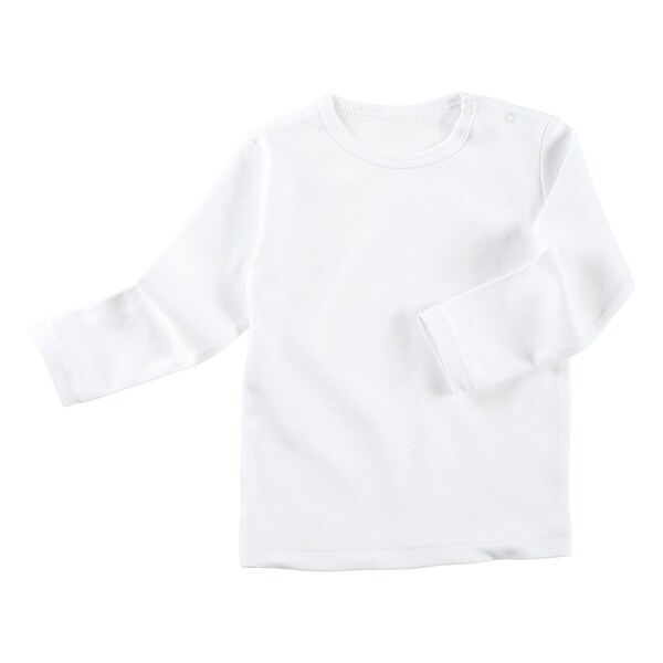Baby-Langarmshirt weiß