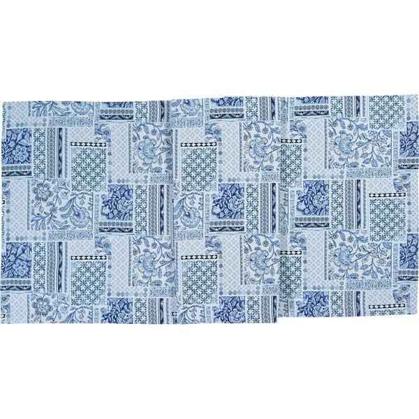 Sander Tischläufer Royal Patch blau
