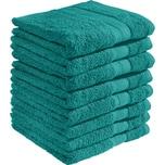 Redbest Duschtuch Chicago 8er-Pack smaragdgrün