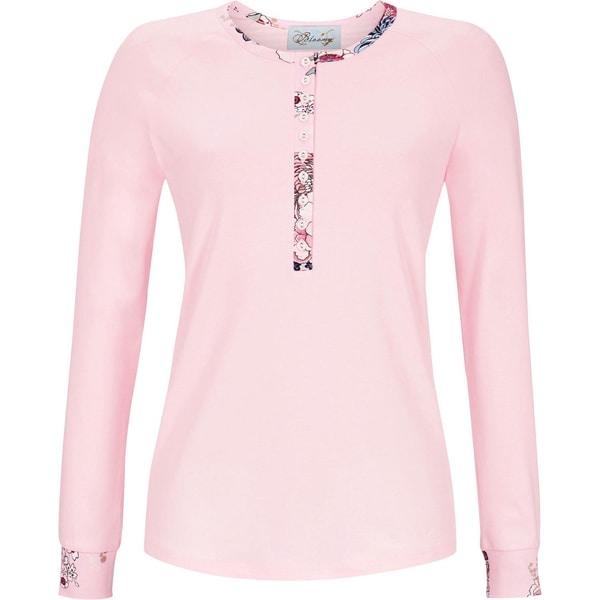 Bloomy Damen-Langarmshirt rosa