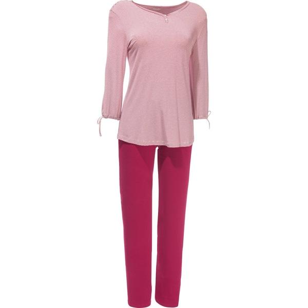 Esprit Damen-Schlafanzug rot