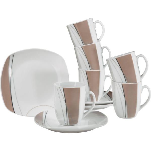 Geploana Frühstücksset Pisa 10-tlg. hellbraun