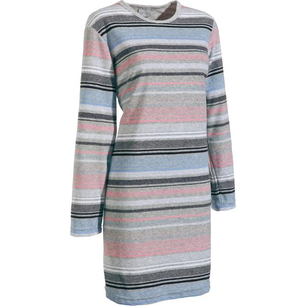 Normann Damen-Nachthemd grau meliert