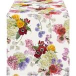 Apelt Tischläufer Summer Garden mit Druckmotiv rosé-lila