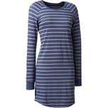 Schiesser Damen-Nachthemd blau
