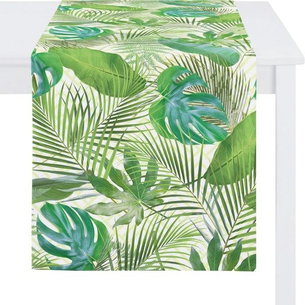 Apelt Tischläufer Summer Garden Blätter