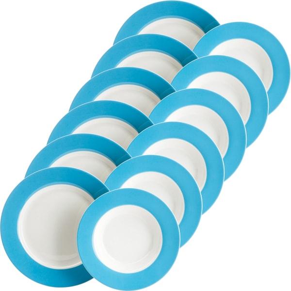 Gepolana Tafelservice blau 12-teilig