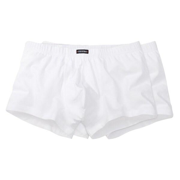 Ceceba Herren-Pants 2er-Pack weiß