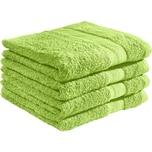 Redbest Duschtuch Chicago apfelgrün 4er-Pack