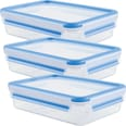 Emsa Frischhaltedose Clip & Close 3er-Pack blau