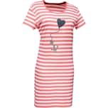 Esprit Damen-Nachthemd koralle/weiß