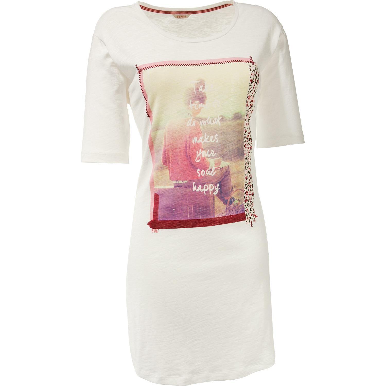 Esprit Damen-Nachthemd natur