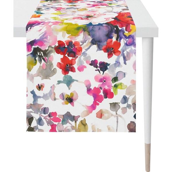 Apelt Tischläufer Summer Garden Aquarellblüten