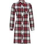 Ringella Damen-Nachthemd rot/schwarz/beige