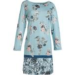 Hutschreuther Damen-Nachthemd rauchblau
