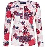 Bloomy Damen-Langarmshirt creme