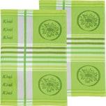 Stuco Geschirrtuch 2er-Pack grün