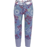 Bloomy Damen-Caprileggings rauchblau