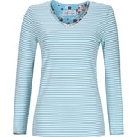 Bloomy Damen-Langarmshirt hellblau