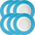 Gepolana Suppenteller blau 6-teilig