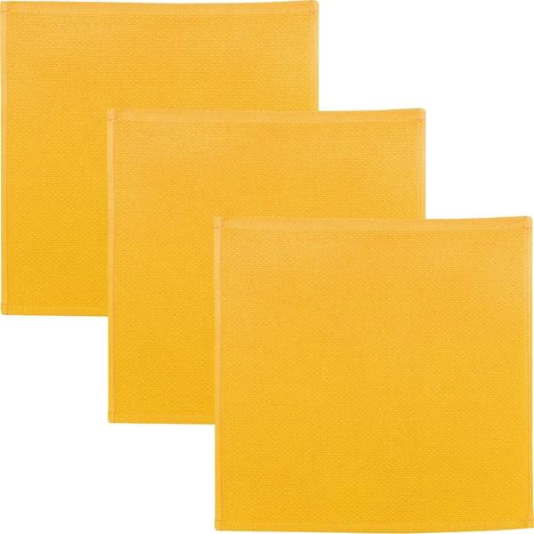 Kracht Spültuch 3er-Pack gelb